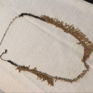 JCrew Fringe Beaded Necklace